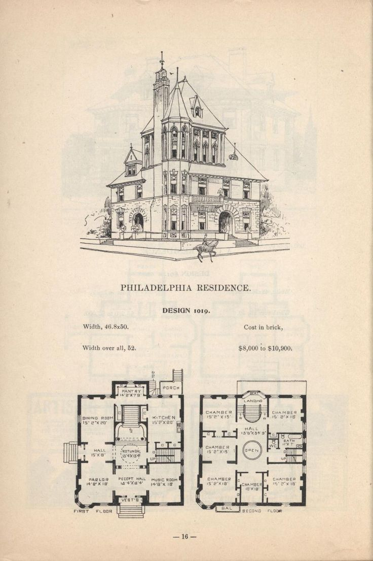 17 best images about vintage house plans on pinterest for Antique house plans