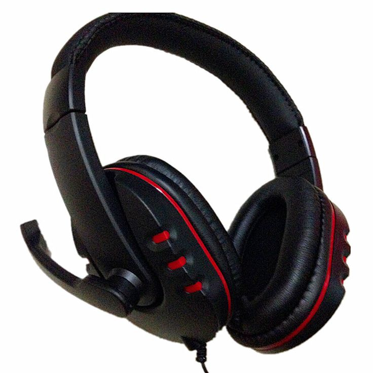 Big Wired PS4 gaming Headset earphones with Microphone Headphone for PS4