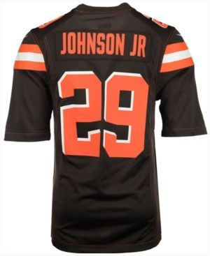 Nike Men's Duke Johnson Cleveland Browns Game Jersey - Brown XXL