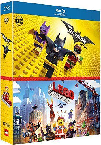 Coffret lego 2 films : lego batman le film ; la grande aventure lego [Blu-ray] [FR Import] Filmer med Svenska Undertexter