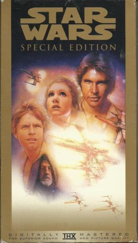 STAR WARS Special Edition Digitally Remastered THX vhs in DVDs & Movies, VHS…
