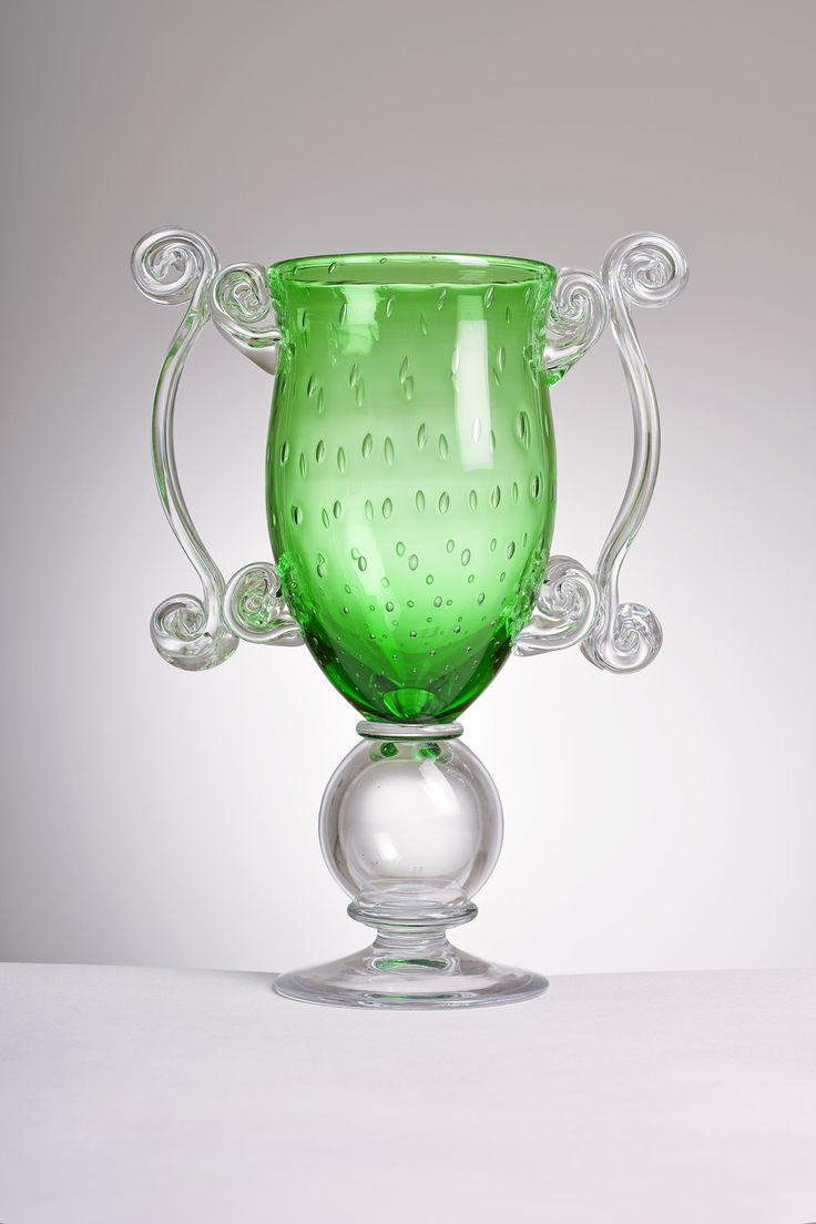 """""""Green goblet"""" by Jiří Pačínek"""