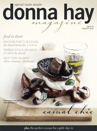 Donna Hay magazine subscription, that will be very nice!