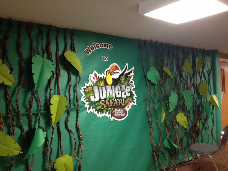 Vbs Journey Off The Map Decorating Ideas