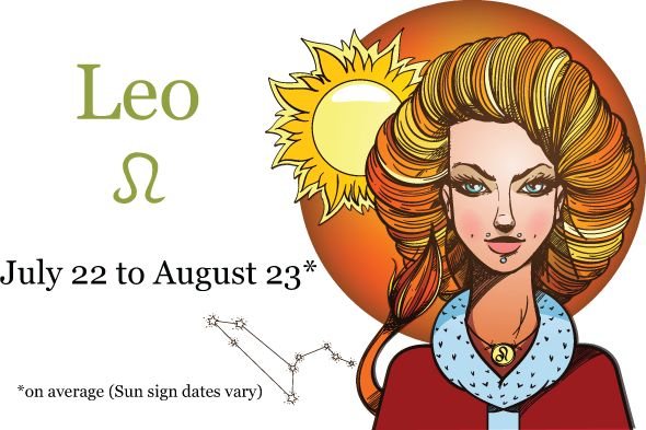 The Leo Woman - Sun sign dates