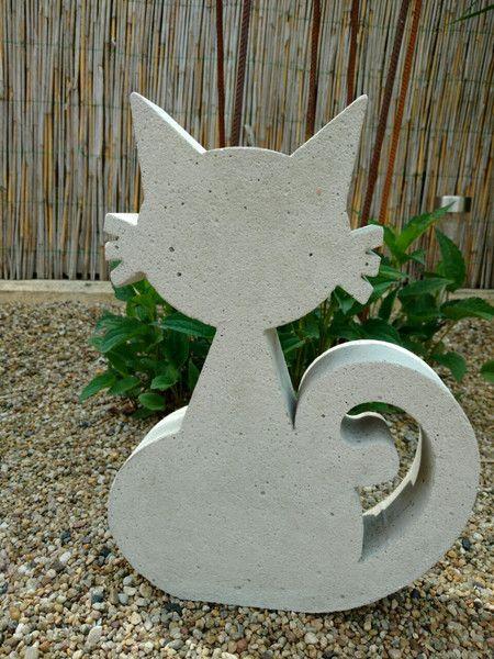 Weiteres - Giessform Beton  - Neckische Katze -  35 cm - ein Designerstück von BIF-Hermes bei DaWanda