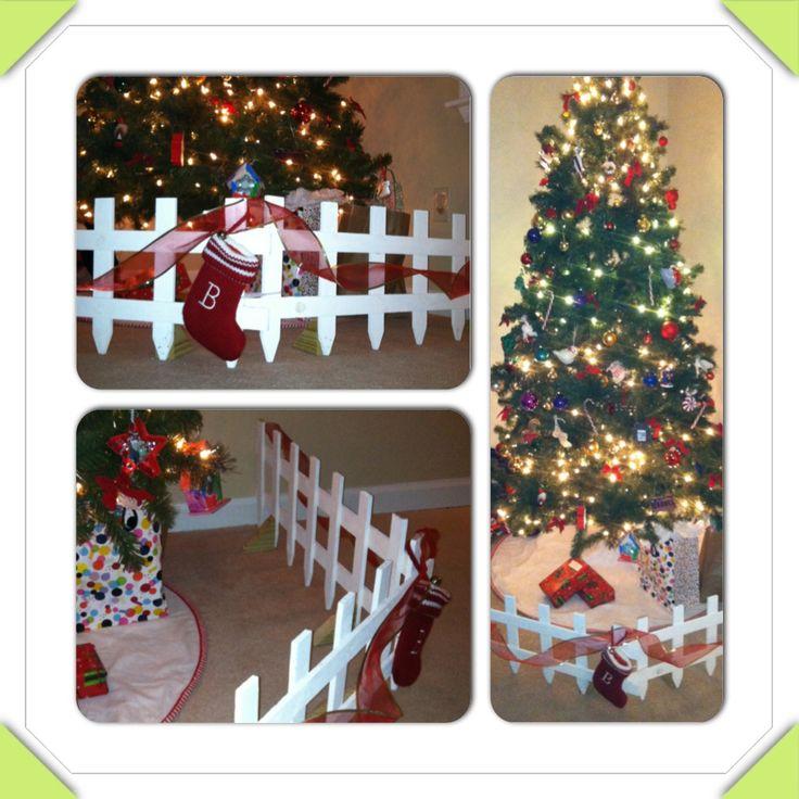 Best christmas tree fence ideas on pinterest wood