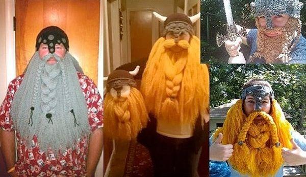 Originales disfraces caseros de vikingo hechos en crochet 2 ¿Buscas disfraces caseros originales? Puedes tejer un disfraz de vikingo...