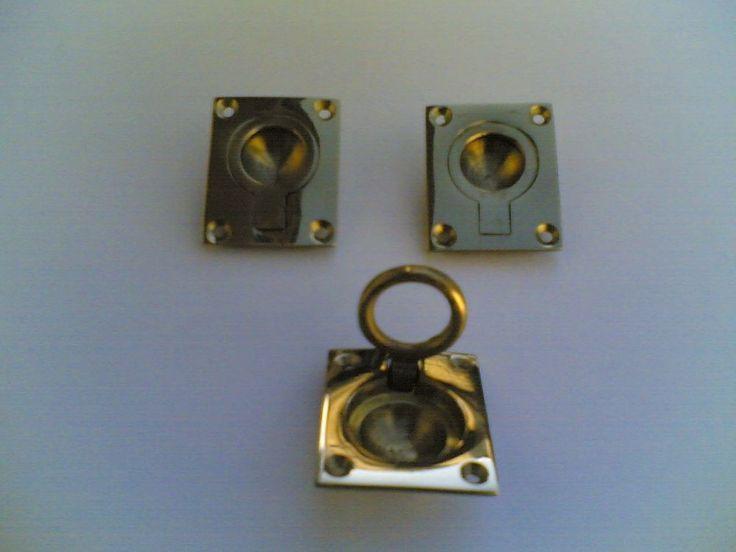 Maniglie a filo da incasso,  Recessed flush handles