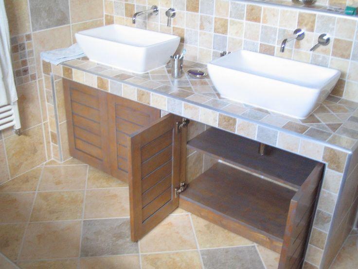 31 best Salle de bain images on Pinterest Bathroom, Bathroom - teck salle de bain sol