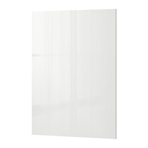 "Ringhult Cover Panel High Gloss White 39x106 Cm: RINGHULT Cover Panel - 26x36 "" - IKEA"