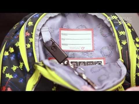 Gdzie znajduje się karabińczyk? Jak umieścić śniadanie, aby było pod ręką? Zobacz filmik, który prezentuje plecak CHI 656 z motywem gry komputerowej.