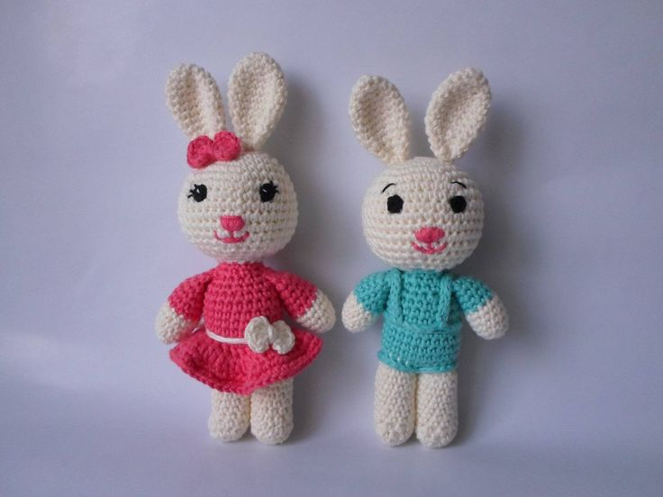 Bunny Amigurumi Crochet Stuffed Toy Animal http://etsy.me/2zDck48 #toys #bunny #girl #boy #toy #crochet #gift #bunnies #pink