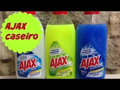 Desengordurante Multiuso Super Potente/Tipo Ajax - YouTube