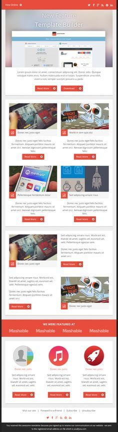 Best Email Design Images On   Email Newsletters Email