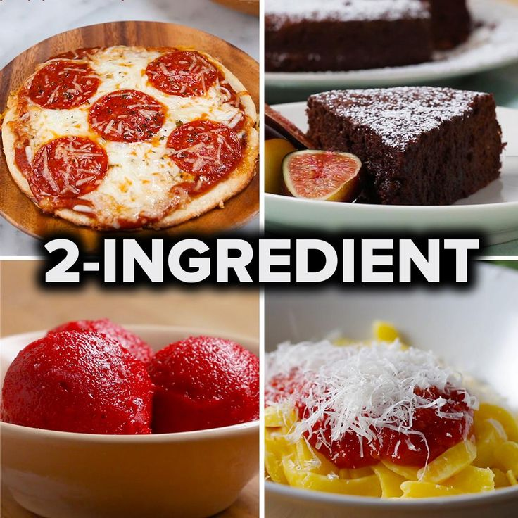5 Easy 2-Ingredient Recipes by Tasty