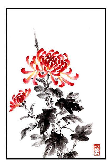 Chrysanthemum: Kazumi Cranney.