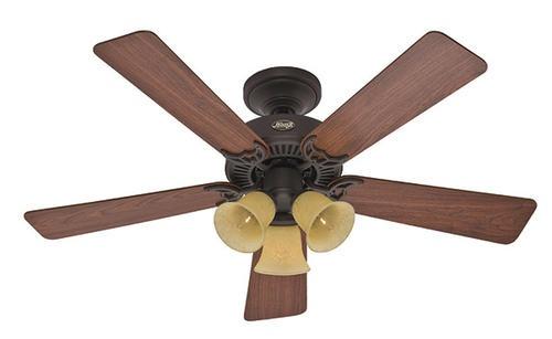 ceilings forward hunter quiet breeze 44 in 3 light ceiling fan hunter
