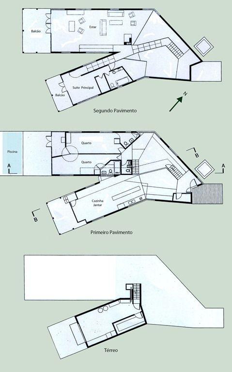 y house steven holl plan