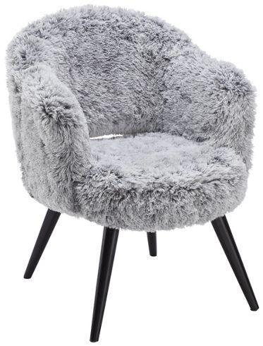 Gemütlicher Sessel mit Plüschbezug - Ihr neuer Lieblingsplatz