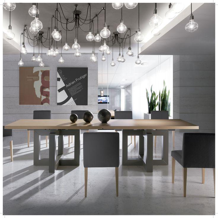 Tu mesa será la protagonista en las  grandes ocasiones porque a su al rededor tienen lugar las todas las reuniones más importantes de tu casa. http://dismobel.es/