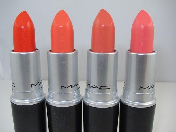 MAC All About Orange Lipstick