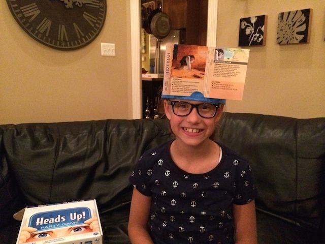 Family Worship Night game idea - Who am I? using Bible Character cards from jw.org