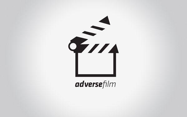 Adverse Film // Corporate Id by Cristiano Vicedomini, via Behance