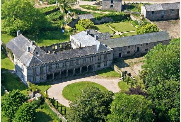 Godolphin House near Helston is a National Trust property well worth visiting