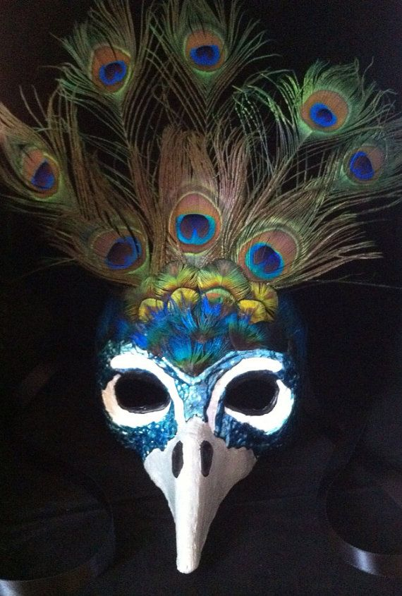 Peacock  / Venetian Specialty Custom Animal by MaskedEnchantment, $150.00