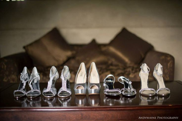 Wedding shoes andywayne photography
