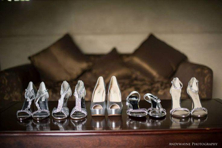 Wedding shoes andywayne photography