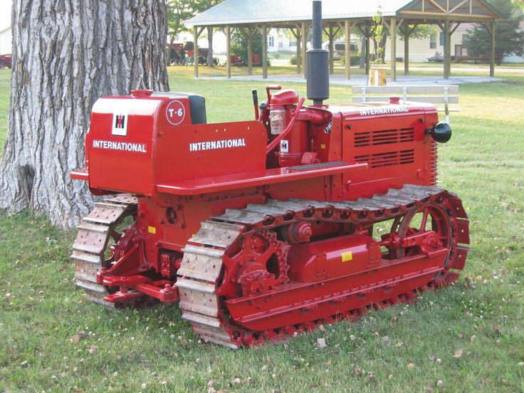 For sale? IH crawler tractors - IH Construction Equipment - Red ...
