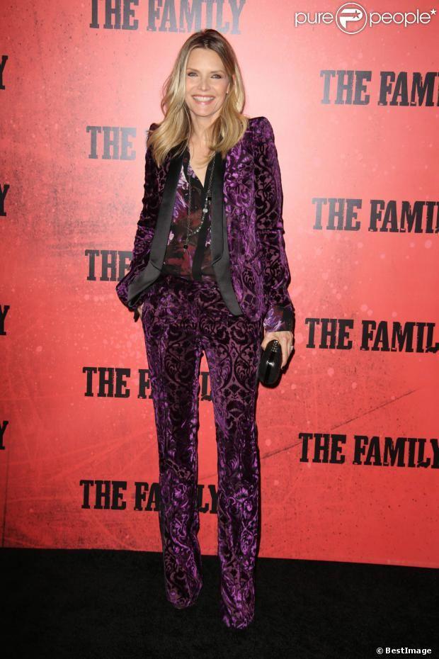 Michelle Pfeiffer lors de l'avant-première du film Malavita à New York le 10 septembre 2013