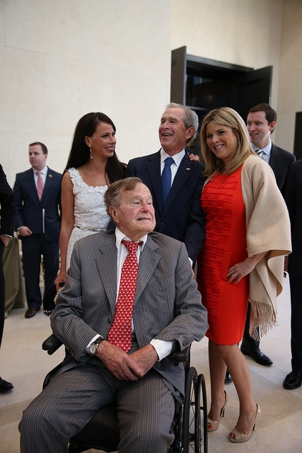 Three Generations of the Bush Family