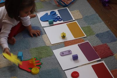 Sort Colors with a Color Scavenger Hunt. || 3 Ways to Practice Colors, The Chirping Moms.