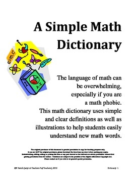 illustrated elementary math dictionary pdf