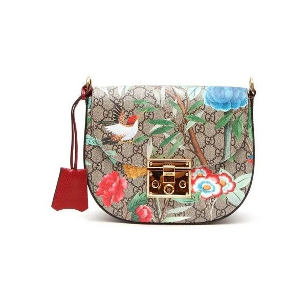 Gucci 453189k0lgg8983 (2,530 CAD) ❤ liked on Polyvore featuring bags, handbags, multicolor, gucci handbags, multi color handbag, gucci bags, brown purse and colorful purses