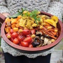 coconut curry buddha bowl