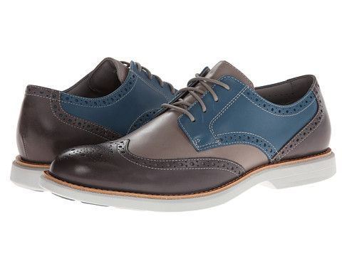 Sperry Top Sider Gold Bellingham Wingtip W Asv Dark Grey Blue, Blue