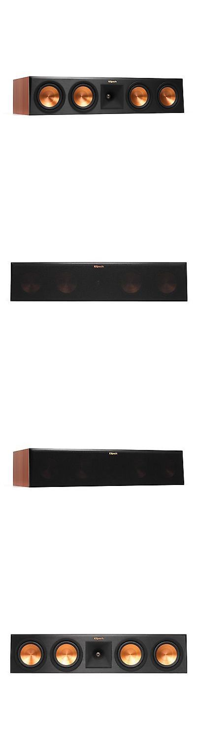 Home Speakers and Subwoofers: Klipsch Rp-450C Cherry - Open Box Reference Center Speaker BUY IT NOW ONLY: $395.92