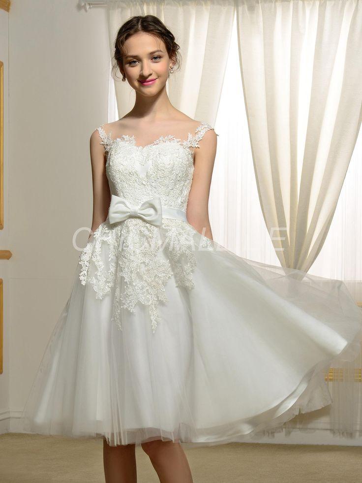 17 besten Kurze Brautkleider Bilder auf Pinterest | Kurze ...