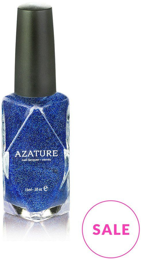 Pin for Later: Match Your Nails to Your Jeans With Beauty's Take on Double Denim AZATURE Nail Polish Blue Diamond AZATURE Nail Polish Blue Diamond (£9, originally £17)
