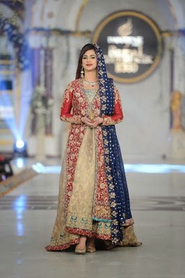 Uzma Baber - Pakistani Bridal Fashion at Pantene Bridal Couture Week 2013 PBCW Lahore