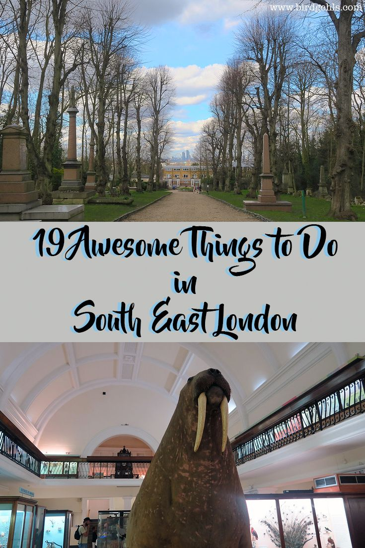 Visiting the UK's capital? Forget the north of the river, head south and turn left. Here's what you can get up to when visiting South East London, the most underrated part of the city. #London #SouthEastLondon #Travel