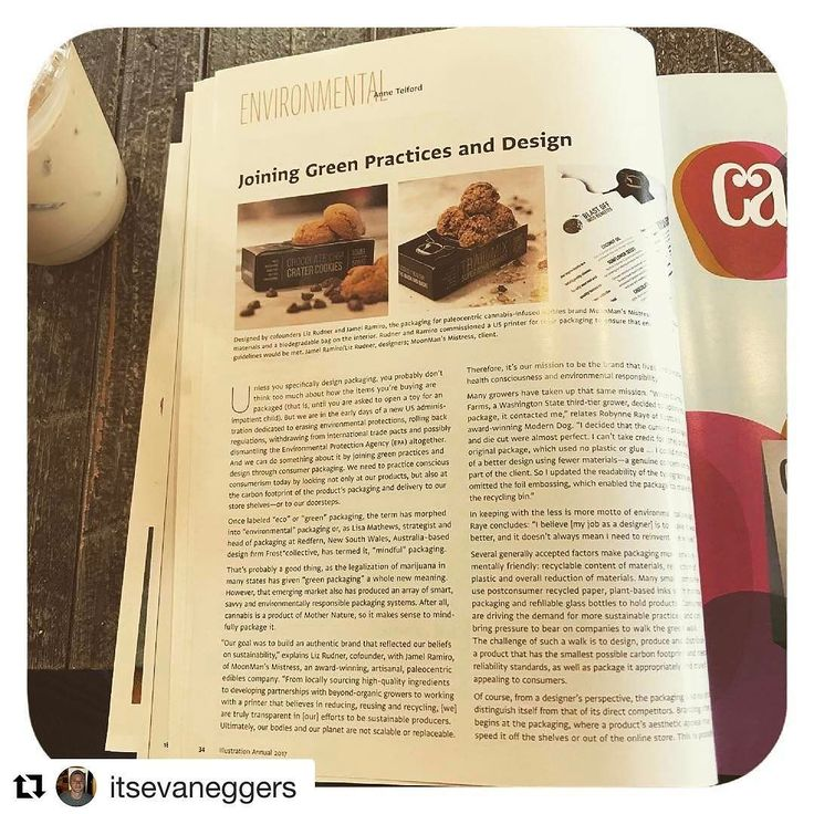"#Repost @itsevaneggers with @repostapp  Was reading a great article on sustainable packaging in CA magazine today. ""With the new administration working hard to defang the EPA and generally loosen constraints safeguarding the environment it is now more important than ever for designers to assume responsibility for the things they produce."""
