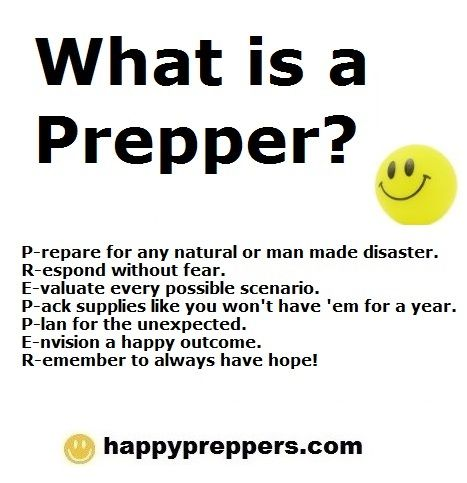 Welcome all self-reliant survivalists, preppers and homesteaders!http://www.happypreppers.com/home.html