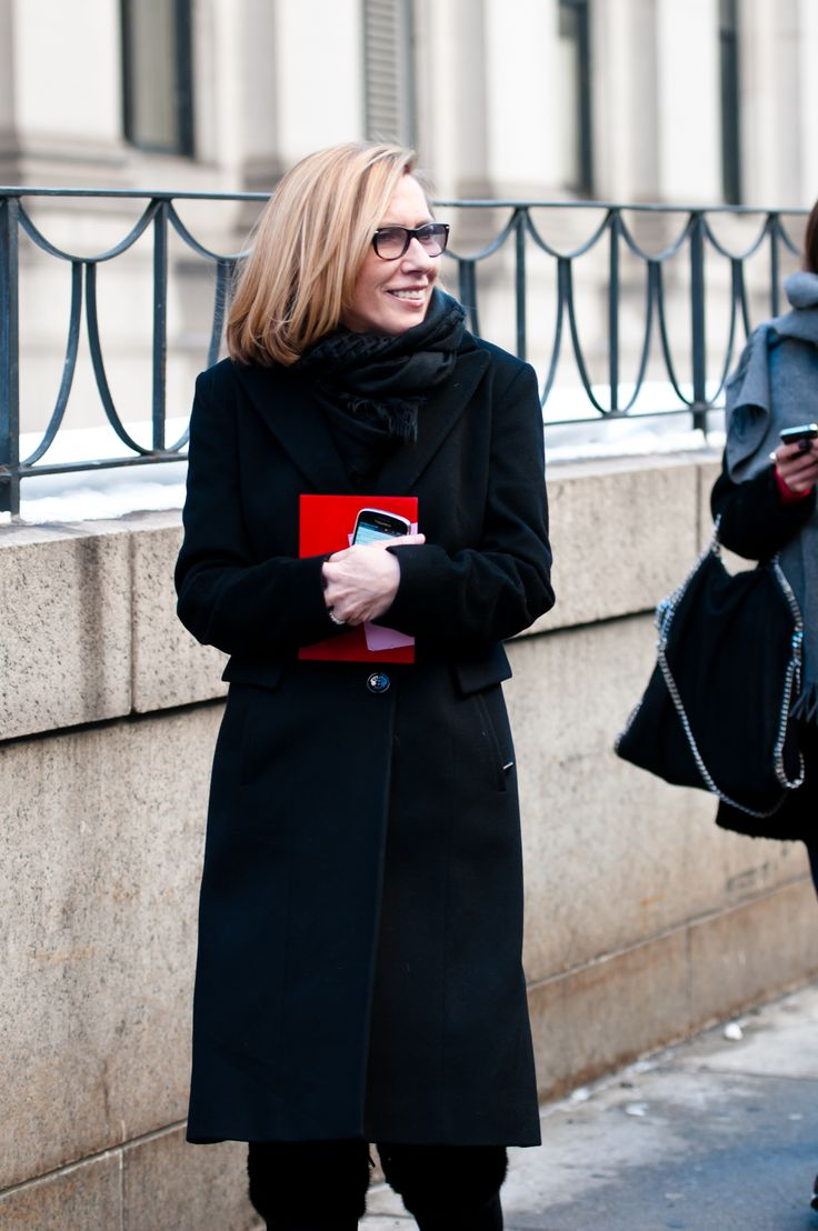 Spotted at NYFW: President of Hudson's Bay, Liz Rodbell by Steven Lee
