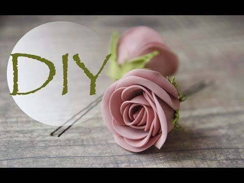 Роза с фоамирана /Rose from foamiran - YouTube