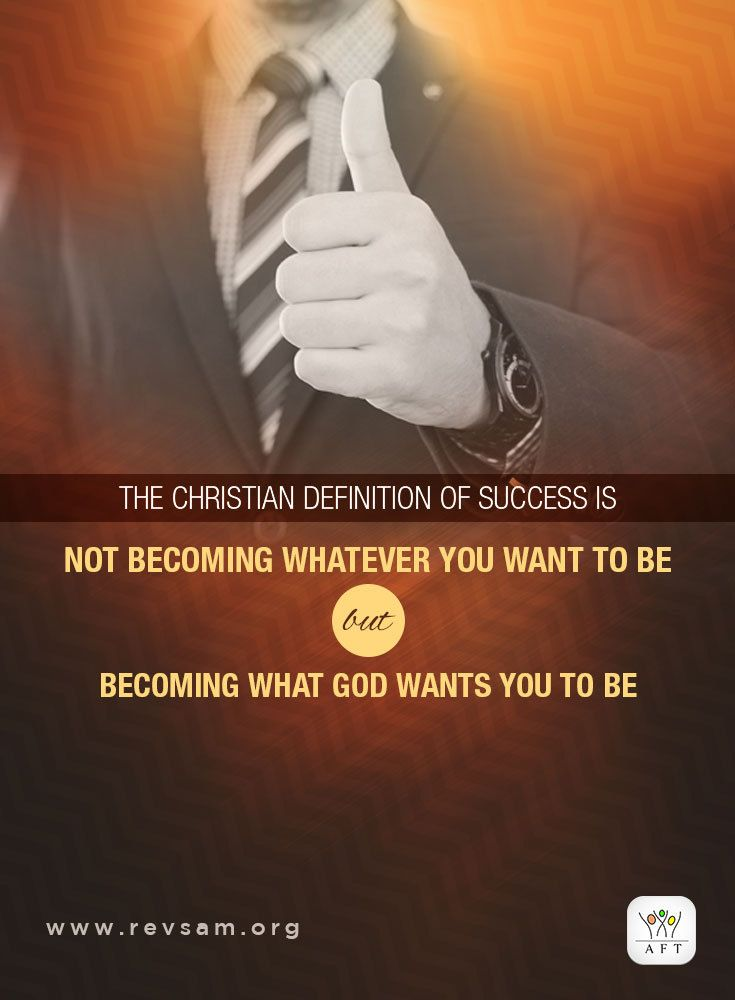 The Christian definition of success is not becoming whatever you want to be but becoming what God wants you to be.  Listen to the full message or read its transcript here: http://www.revsam.org/video/index/index/video/sunday-english-07-jan-2018/?utm_source=pinterest&utm_medium=image&utm_campaign=english-quote01-vcfss20180107  #revsam #work #success